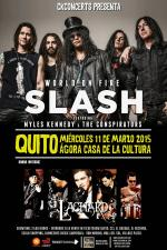 Slash en Quito.